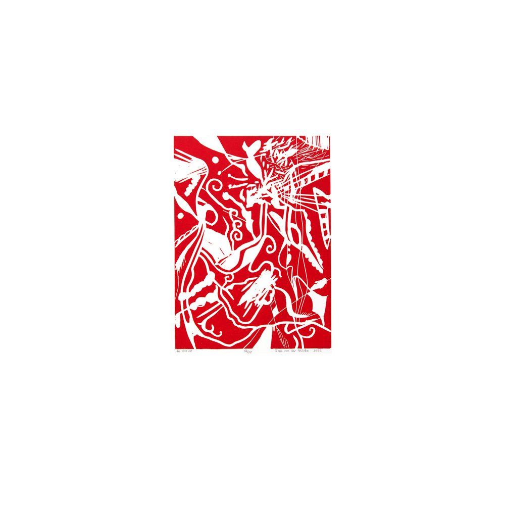 Mono prints, Cecile van der Heiden